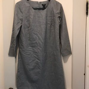 J Crew long Sleeve shift dress - size 00